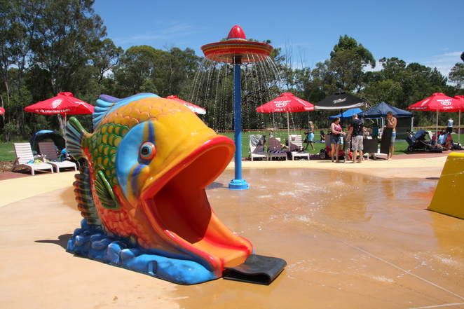 Outback Splash at the Maze