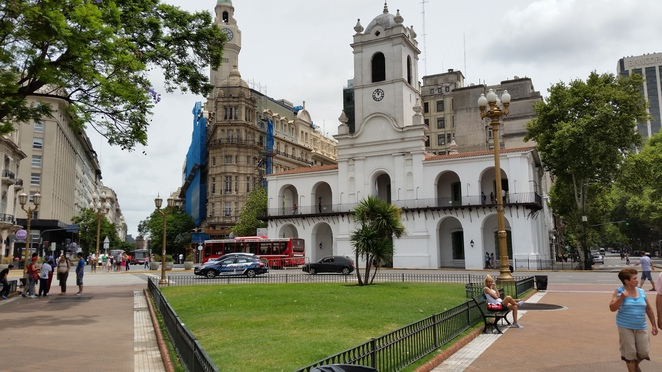 Plaza de Mayo, Buenos Aires, Tourist attraction, Park, Historic