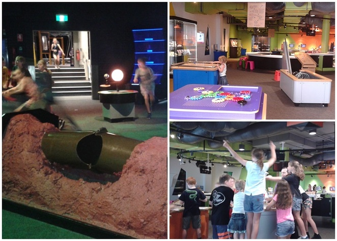 questacon, school holidays, kids, science museum, canberra, teenagers, science, interactive, robo q,