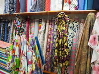 Russell's Fabrics, sewing, material, Sandgate