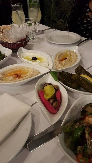 Sahra by the river, Lebanese food,middle eastern cuisine