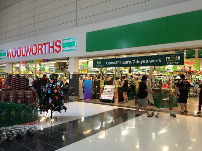 24 hour Woolworths at Skygate, Brisbane Airport