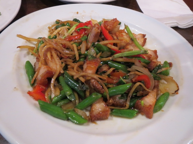 Thai Lucky Bell, Crispy Pork with Chinese Broccoli, Adelaide