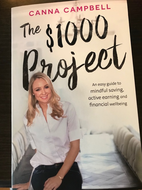 The $1000 Project, Canna Campbell, SugarMamma, Financial Wealth, Wealth creation, debt reduction, money, saving