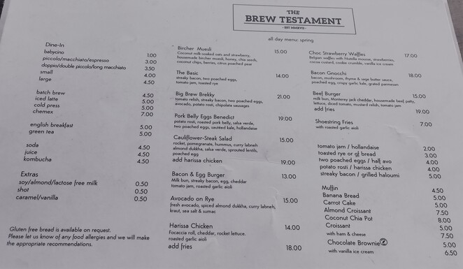 the brew testament north lakes