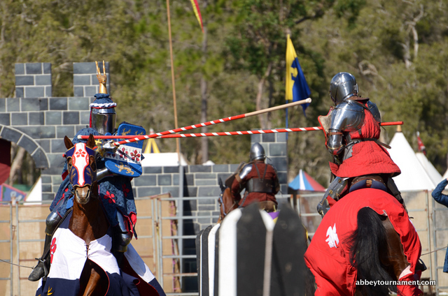 Abbey Medieval Festival jousting