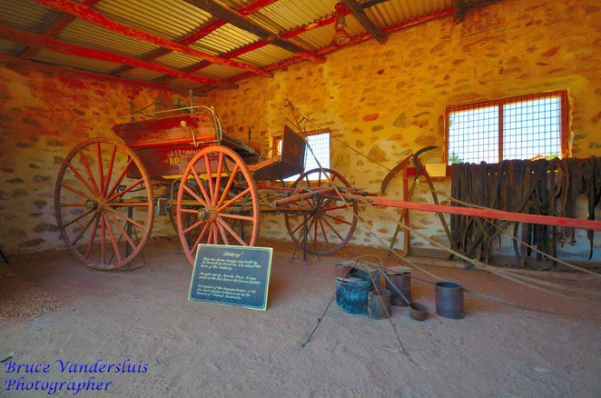 alice springs, telegraph station, overland telegraph line, northern territory, store and buggy shed