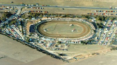 Avalon Raceway, the big oval track