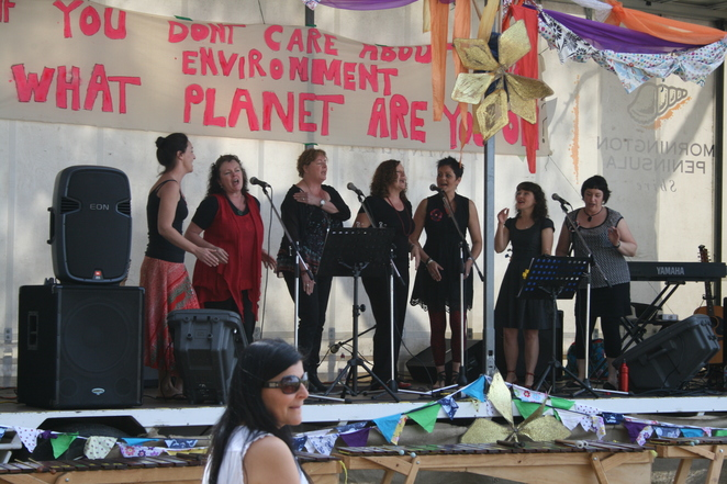 balnarring sustainability fair music indigenous culture
