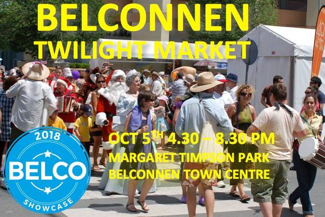 belconnen twilight market, canberra, ACT, whats on, october school holidays, ACT, 2018, market stalls, crafts,