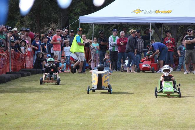 Billy cart races, july events, what's on july