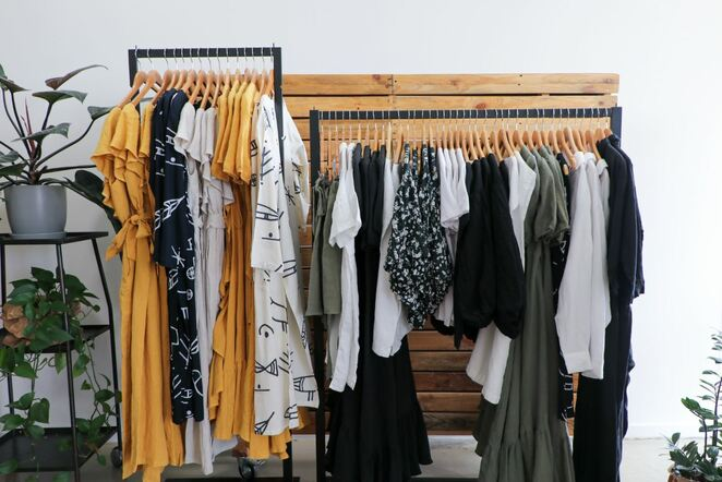 Some of the slow fashion range available at Biome's Collective