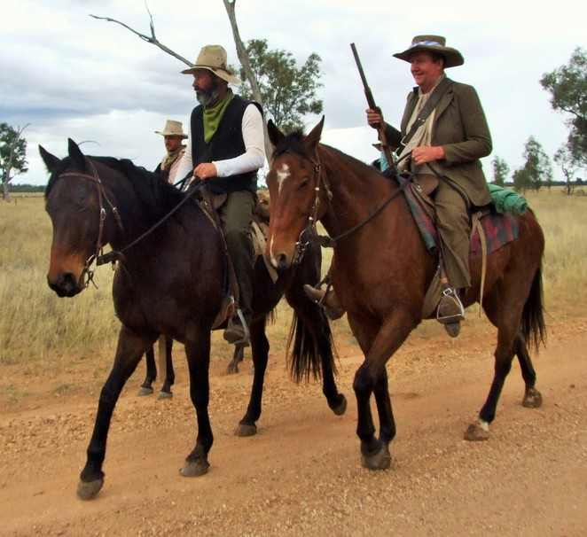 bushrangers, riding, horses, adventure, camp, trek, cobb & co