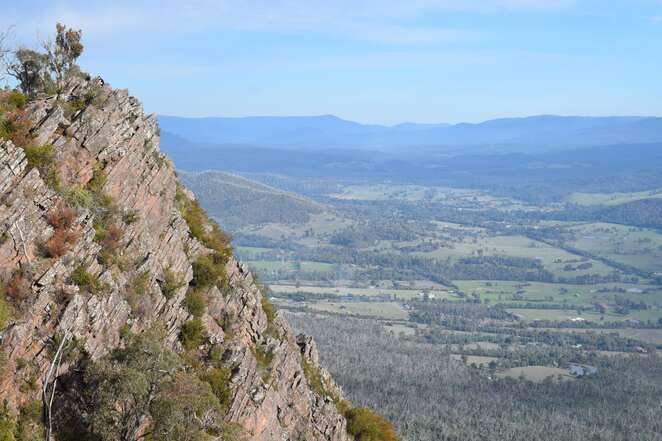 cathedral ranges, southern circuit, hiking, melbourne, yarra valley, ranges, national park, victoria, lookout