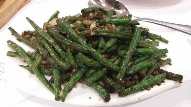 China Chilli Restaurant, Stir-Fried String Beans, Adelaide