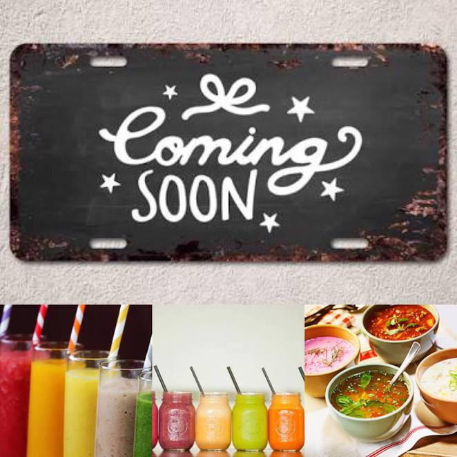 Coming Soon, Soup and smoothies, Alchemy Cafe, Gawler