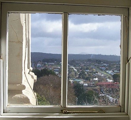 Daylesford, Convent Gallery, Victoria, view, country,