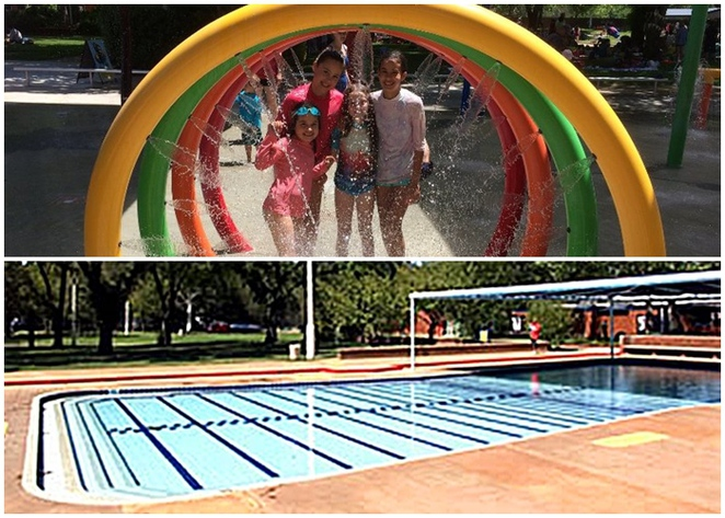 dickson swimminging centre, canberra, best toddler pools, ACT, kids, dickson pool,