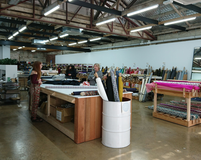 fabric store adelaide city designer sewing craft