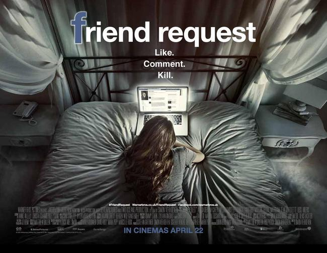 Facebook, Twitter, Instagram, Social Media, Horror, Supernatural, Psychological, Horror, Friend Request, Friend, Friends, Request, Internet, Technology, Computer, Mobile, Phone, Youth, Scary, Ma Rina, Laura, Social, Media, Online, World Wide Web, WWW, .com