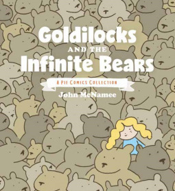 goldilocks and the infinite bears, Pie comics, surreal, absurdist humour, funny comics