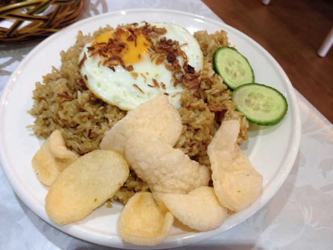 Indonesian food, Kensington, restaurant, nasi goreng