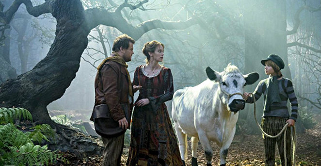 into the woods, james corden, chris pine, film review, movie review, meryl streep, emily blunt, fairy tale, cinderella, musical, jack and the beanstalk, rapunzel, johnny depp, anna kendrick, little red riding hood