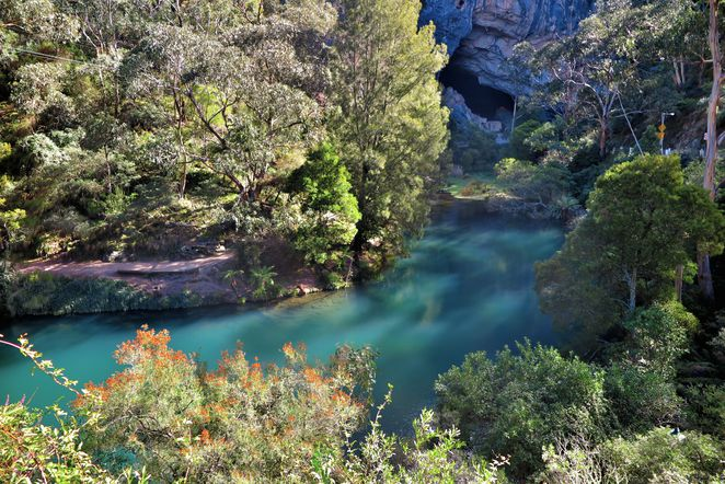 Jenolan Caves, Blue Lake, Blue Mountains, NSW