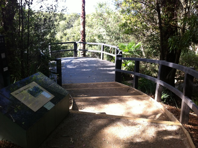 Kokoda Track Memorial Walkway-timber walkway
