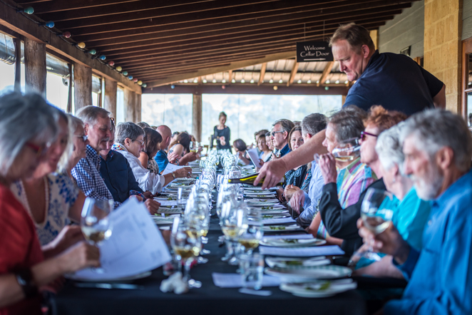 Long table lunch, Taste Great Southern, Marco Pierre White, Paul Papalia, Alannah MacTiernan