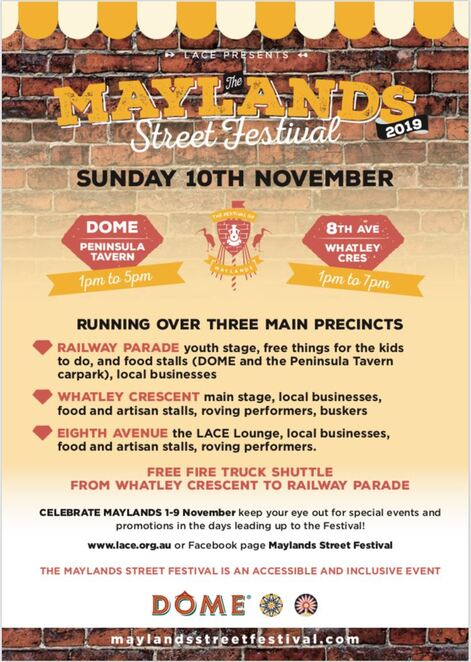maylans street festival 2019, communitye event, fun things to do, lace inc, activities, performances, kids fun, activities, games, entertainment, rides, bars, coffee shops, family fun day out