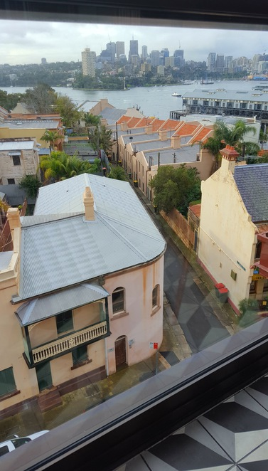 Millers Point, views, history