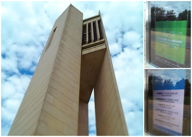 national carillon, canberra, ACT, bells, lake burley griffin, kings park,