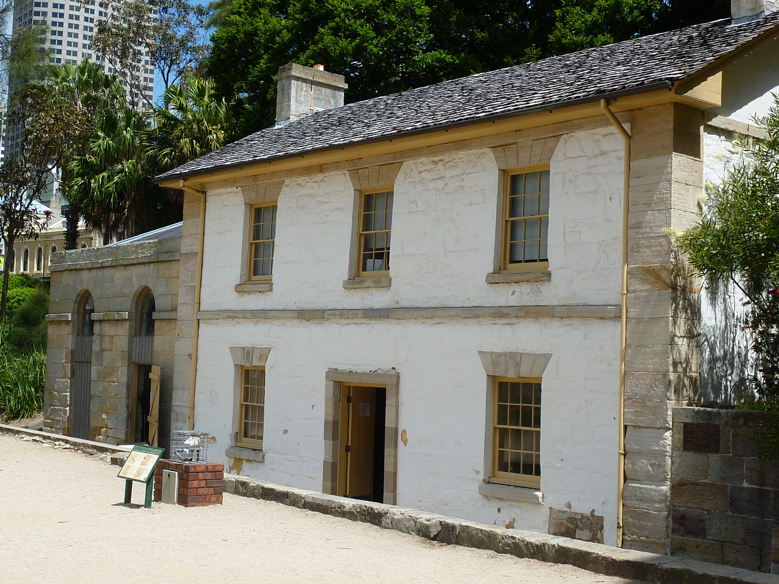 Where is sydney 39 s oldest house sydney House build
