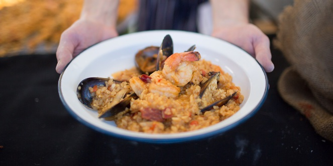 Paella from Watsons Bay Boutique Hotel