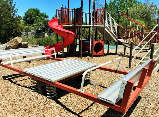 park, playground, picnic area, reserve, chirnside park, play, free, family, fun, climbing equipment, basketball court