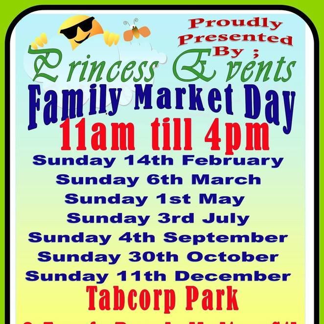Princess Events Family Market Day