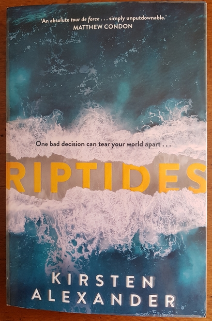 riptides, book review, kirsten alexander, 2020