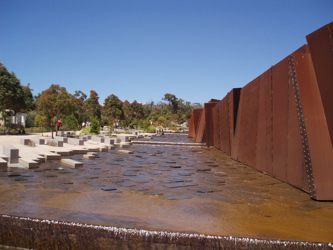 Rock pools, Australia Garden, Cranbourne, Royal Botanic Gardens, Melbourne Gardens,