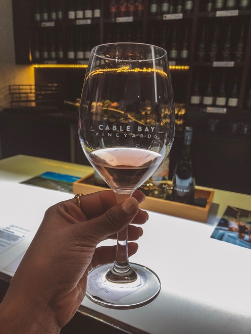 Awatere Valley Pinot Rose Tasting @ The Cellar - Cable Bay Vineyards (photo by Praneel Lal)