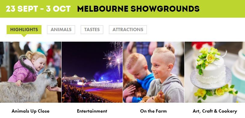 royal melbourne show tickets - photo #46
