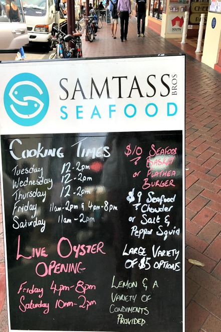 Seafood, Christmas, Central Market, Adelaide