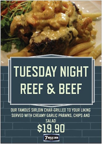 Seven,Mile,Inn,Tuesday,night,specials