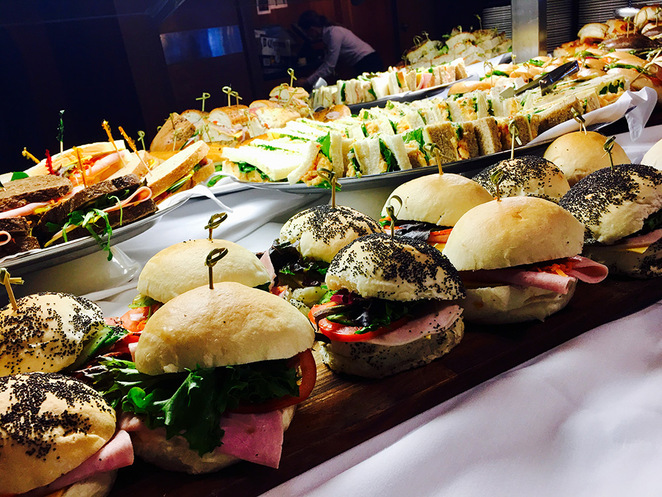 Some of the sandwiches