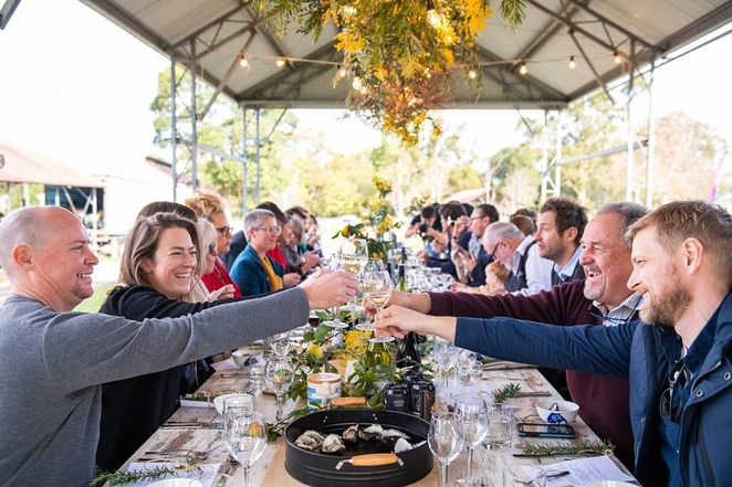 South Coast Food and Wine Festival, Berry Long Lunch