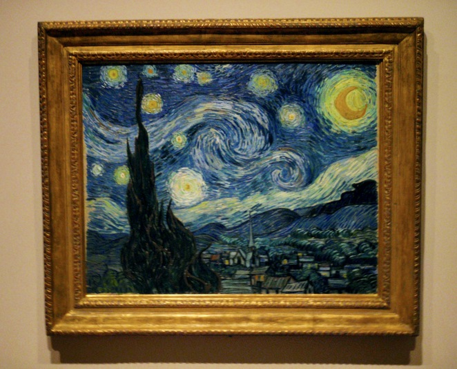 Starry Night Van Gogh Museum of Modern Art New York, Van Gogh Painting, Starry Night Painting, MOMA, Museum of Modern Art New York, New York Pass, New York City Pass
