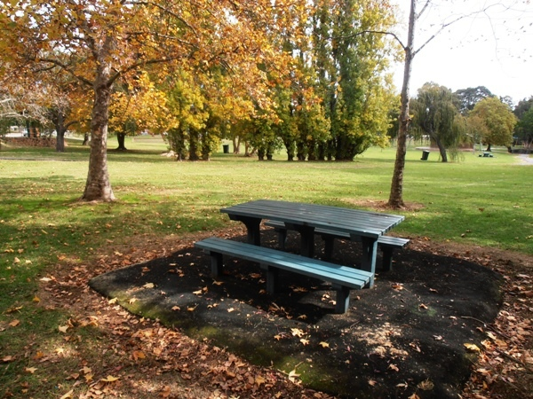 One of several nice picnic spots in Stirk Park