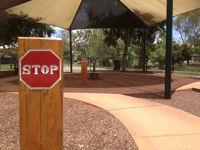 stop sign playground