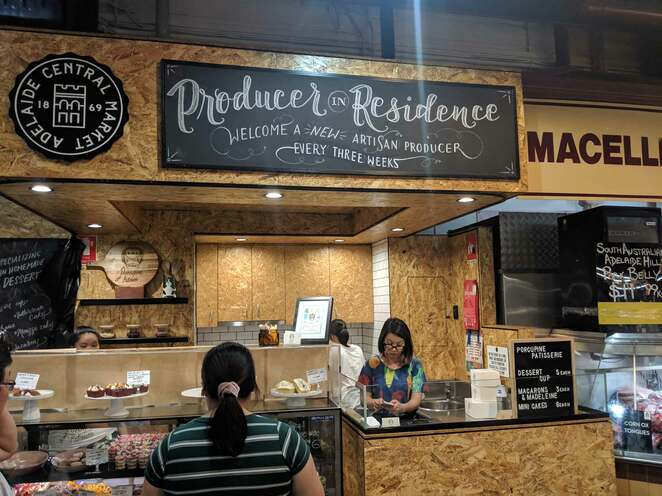 street food, adelaide central markets, producer in residence