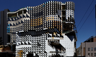 Swanston Academic Building RMIT where the Give a Fork! campaign is being launched.